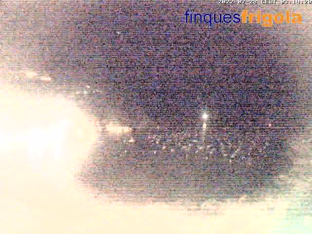 Webcam de Tamariu beach