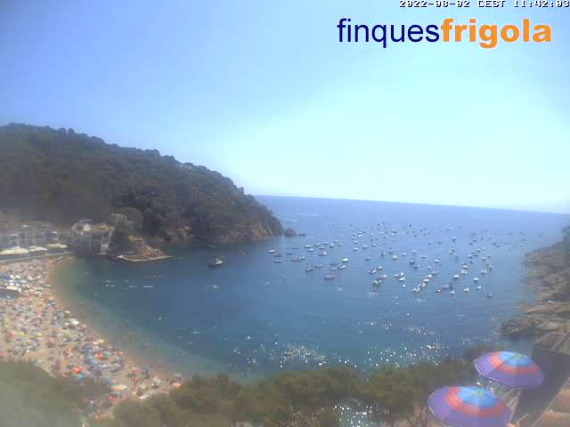 Tamariu Strand Webcam