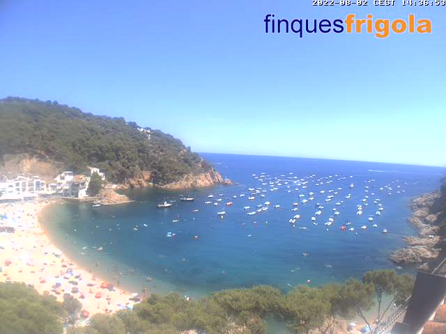 Costa Brava - Tamariu - Live Webcam