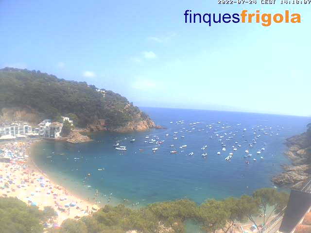Webcam de Tamariu - costa brava